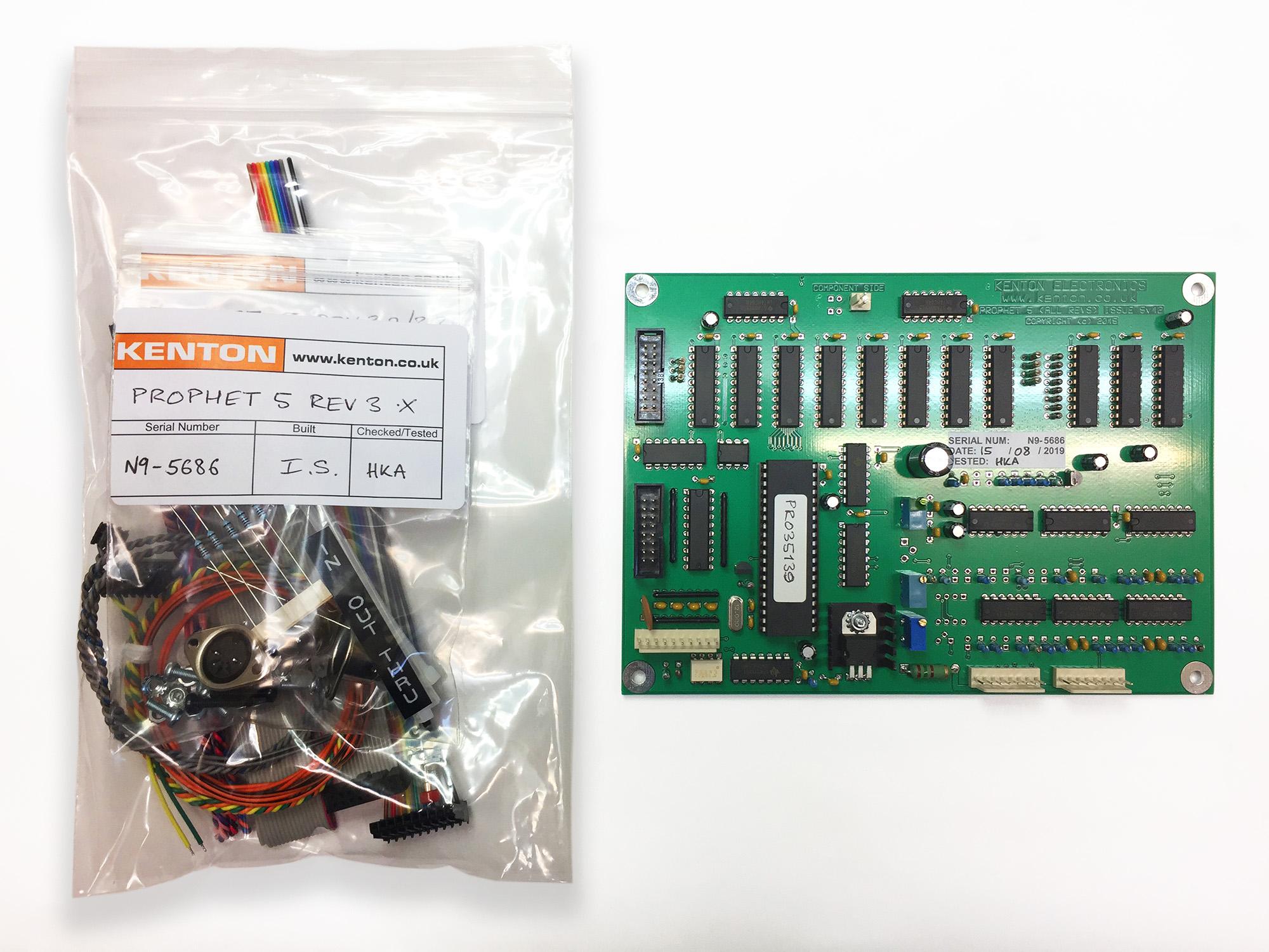 [DIAGRAM_3US]  Prophet 5 rev 3.2 and 3.3 - Kenton Electronics | Prophet Wiring Diagram |  | Kenton Electronics